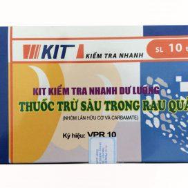 Kit test kiểm tra nhanh dư lượng thuốc trừ sâu VPR10